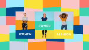 header design women power fashion